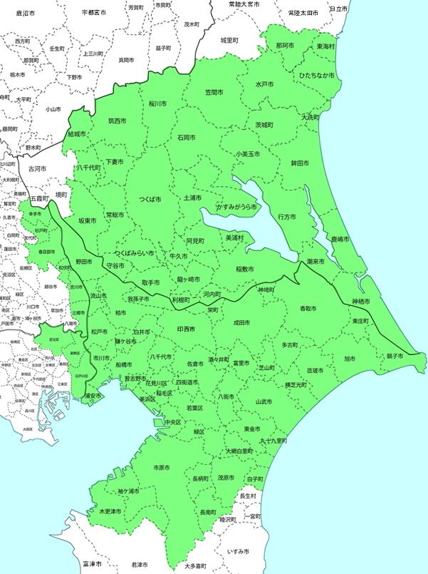 対応エリア地図(小)